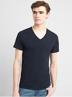 Stretch V-Neck T-Shirt