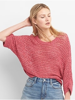 Loose Knit Pullover Sweater