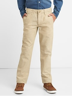 Everyday Pants in Linen-Cotton