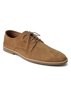 Lace-Up Dress Shoes in Suede