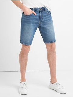 "10"" Slim Denim Shorts with GapFlex"