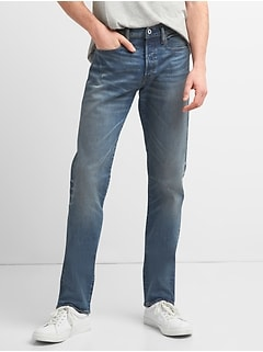 Limited-Edition Cone Denim® Selvedge Slim Jeans with GapFlex