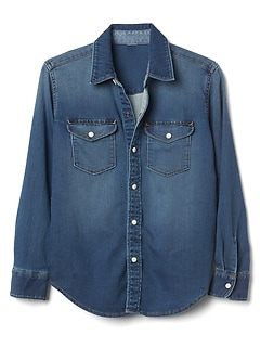 Supersoft Denim Shirt