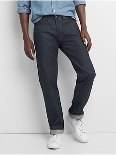 Limited-Edition Cone Denim&#174 Selvedge Straight Jeans with GapFlex