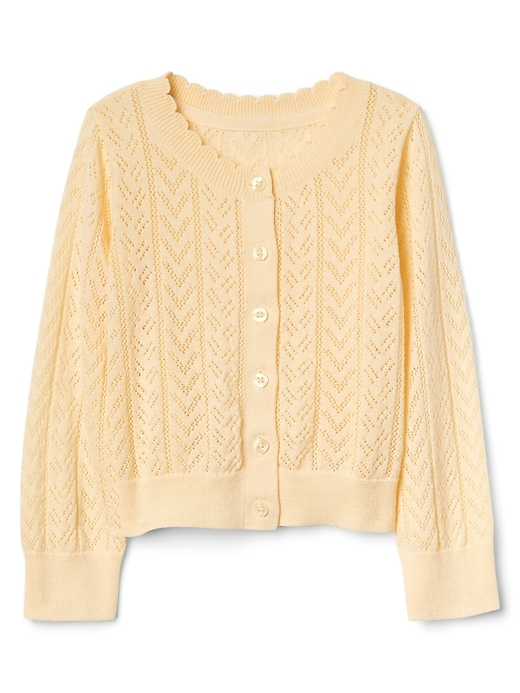 Eyelet Cardigan Sweater by Gap