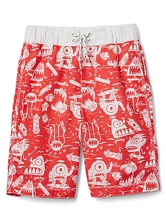 "8"" Monster Swim Trunks"