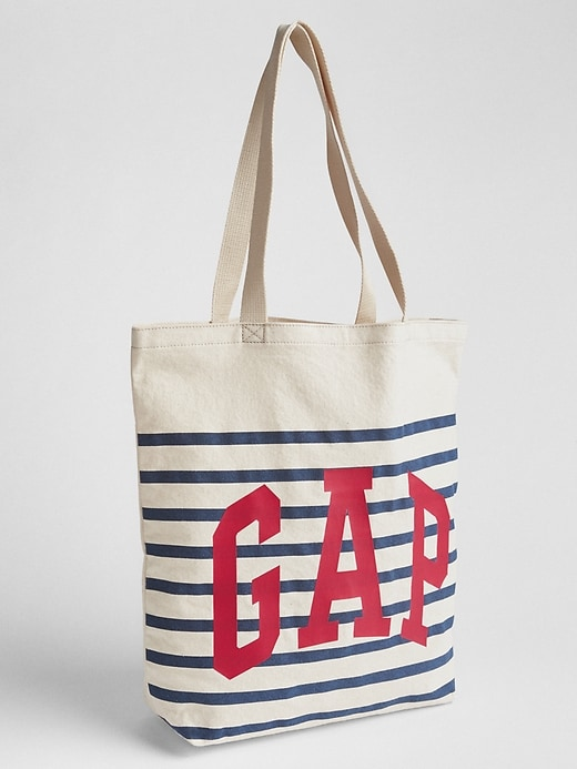 Logo Stripe Tote by Gap