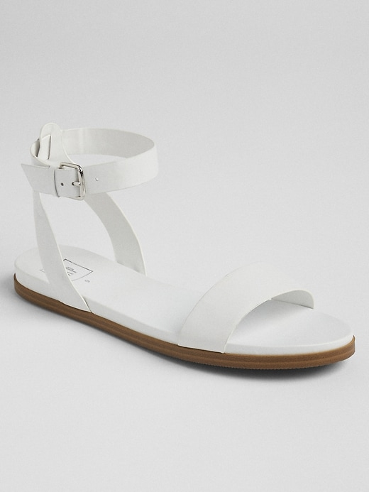 Ankle Strap Flat Sandals by Gap