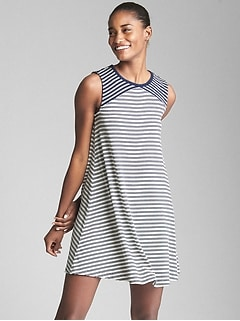 Softspun Cutout Tank Dress