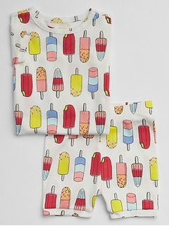 Popsicle Short PJ Set