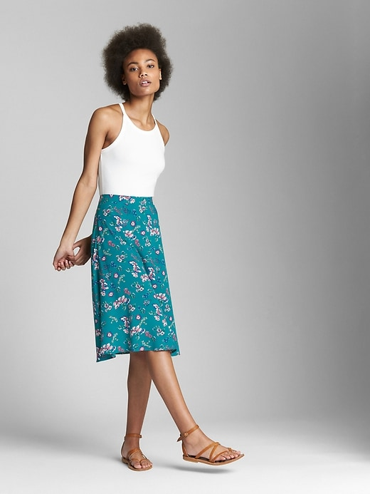Floral Circle Skirt by Gap