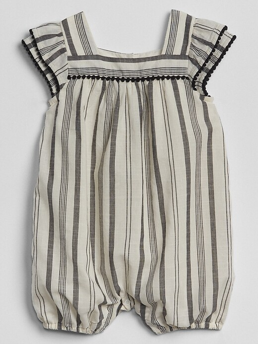 organic-square-neck-shorty-one-piece by gap