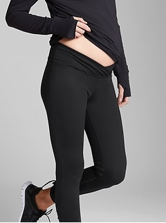 Maternity GapFit Blackout Technology Under-Belly Leggings
