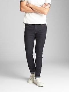 Resin Rinsed Jeans in Super Skinny Fit with GapFlex