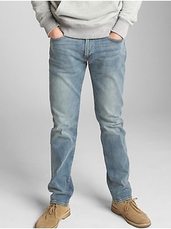 Jeans in Straight Fit with GapFlex