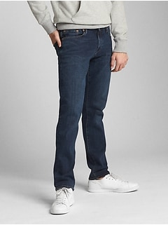 Washwell Jeans in Slim Straight Fit with GapFlex