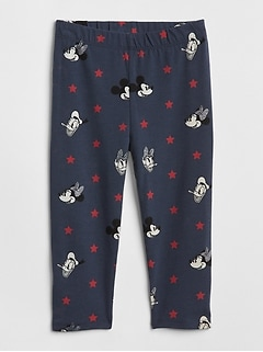 babyGap &#124 Disney Mickey Mouse and Minnie Mouse Crop Leggings