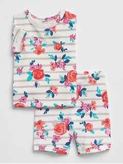 Floral Short PJ Set