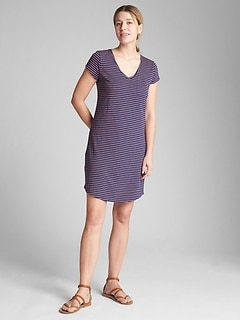 Short Sleeve Pocket T-Shirt Dress