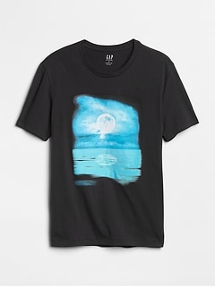 Graphic Short Sleeve Crewneck T-Shirt