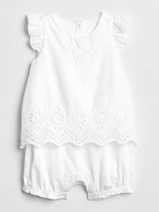 Eyelet Flutter 2 In 1 One Piece by Gap