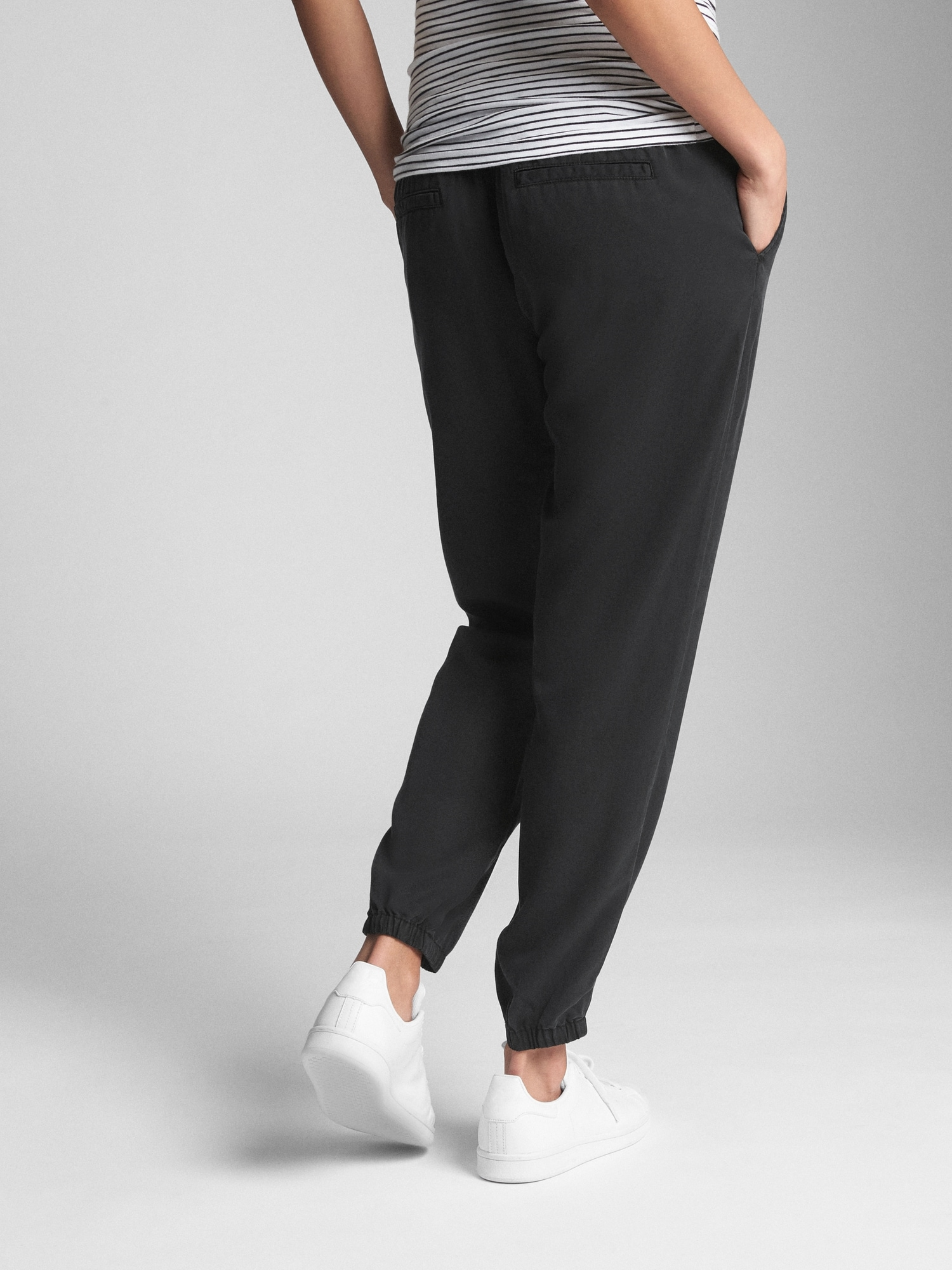 buy popular elegant and sturdy package official supplier Maternity Drawstring Joggers in TENCEL™
