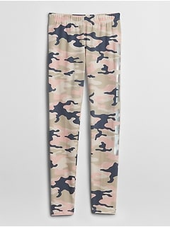 GapKids &#124 Star Wars&#153 Camo Crop Leggings