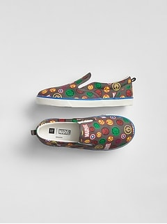 GapKids &#124 Marvel&#169 Slip-On Sneakers