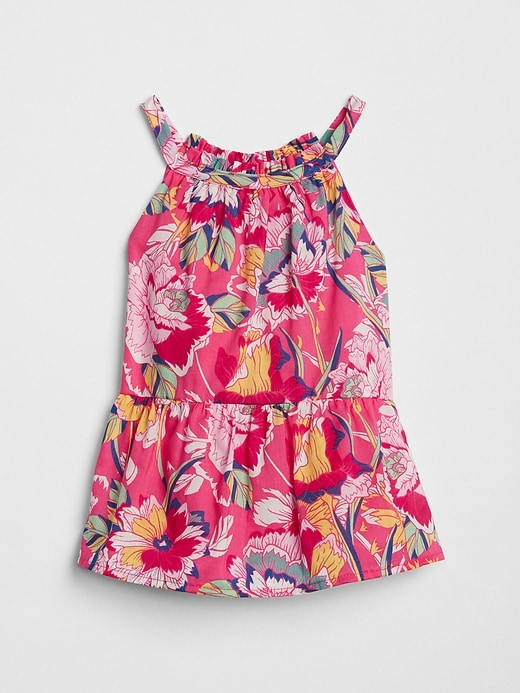 Halter Peplum Tank Top by Gap
