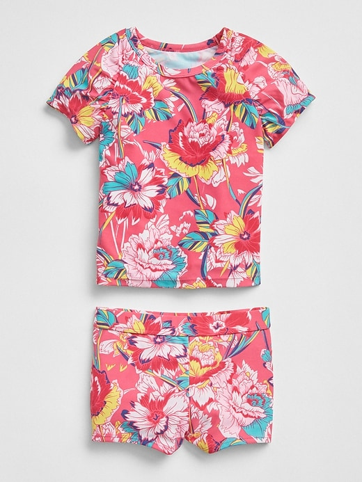 Rashguard Swim Two Piece Set by Gap