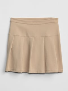Uniform Pleated Skirt
