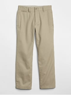 Uniform Relaxed Khakis in Stretch