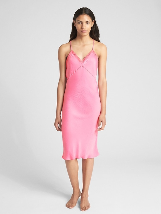 Dreamwell Satin Cami Dress by Gap
