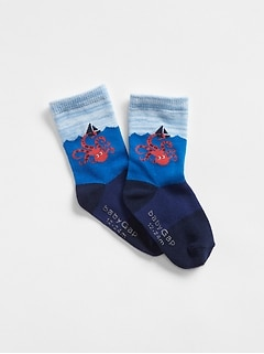 Octopus Crew Socks