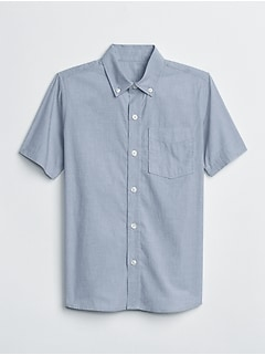 Uniform Poplin Short Sleeve Shirt