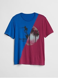 Gap &#124 World Surf League Graphic T-Shirt