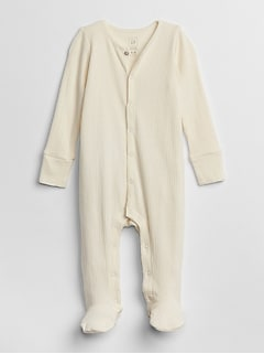 Organic Footed One-Piece