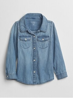 Toddler 1969 Light Chambray Shirt