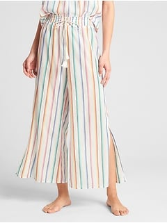 Dreamwell Print Wide-Leg Pants