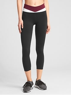 GFast High Rise Colorblock 7/8 Leggings in Eclipse