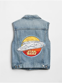 GapKids &#124 Star Wars&#153 Denim Vest