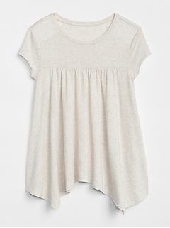 Handkerchief Short Sleeve T-Shirt
