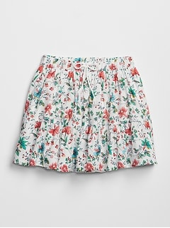 Floral Tier Skirt