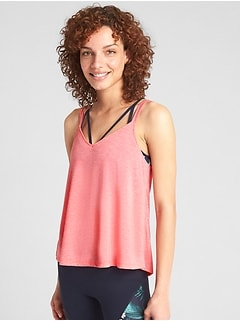 GapFit Breathe Strappy Cami
