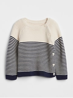 Stripe Garter Sweater