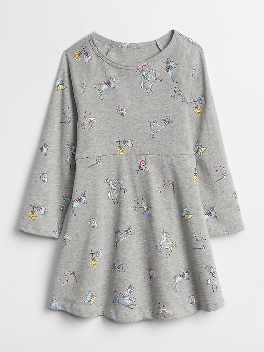 Print Skater Dress by Gap