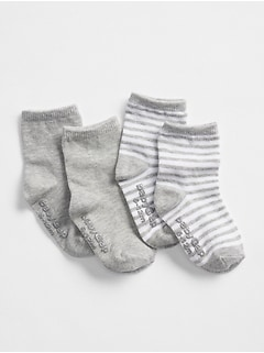 First Favorite Crew Socks (2-Pack)