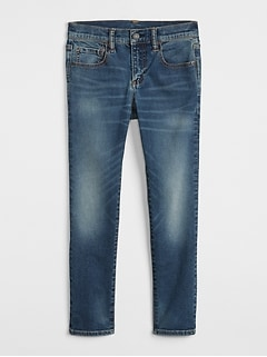 Kids Superdenim Skinny Jeans With Fantastiflex