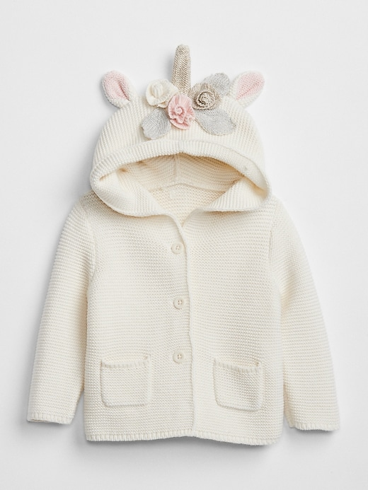 Unicorn Garter Hoodie Sweater by Gap