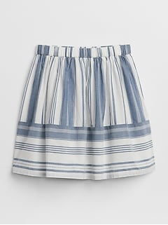 Stripe Tier Skirt